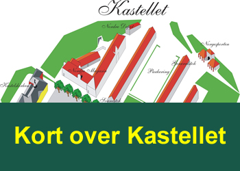 Kort over Kastellet